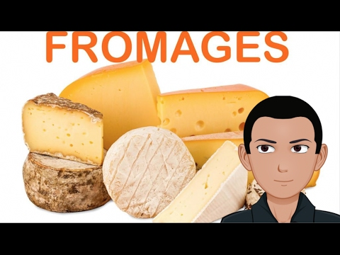 FRENCH CHEESE Names 2 - YouTube