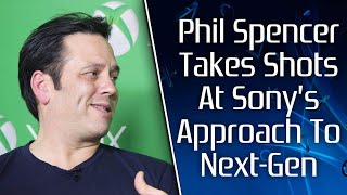 Phil Spencer Seemingly Takes Shots At Sony's Next-Gen Approach With PS5, Defends Cross-Gen Games