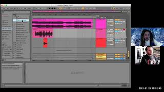 Recording guitar tracks on Ableton Live~ tutorial with El Diablo Bass for Aceyalone's album