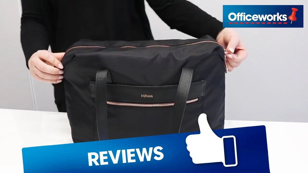 6c473772c2fb Nifteen 14 inch Laptop Bag Overview - YouTube