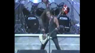 METALLICA Master of Puppets live-MONSTERS OF ROCK (1988/07/24 Los Angeles)