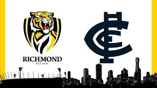 Richmond vs Carlton Round 1 AFL 2020 Livestream