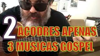 Baixar 3 Músicas Gospel Fáceis com 2 Acordes Aula de Violão Simplificada para Iniciantes Prof Clovis