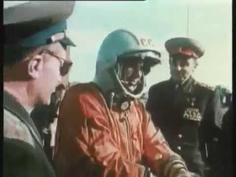 Rus Astronot Yuri Gagarin Uzaya Çıkan İlk İnsan Görüntüleri