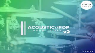 Free Sample Pack | Acoustic Pop Drums v2 | Acoustic x Pop Drum Loops