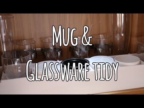 Caravan Mug Amp Glassware Organiser Project Rv Closet