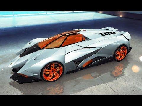 Asphalt 8 Lamborghini Egoista Cloud Nine 58 806 Youtube