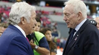 Jerry Jones Calls Robert Kraft a 'P***y' | Stadium
