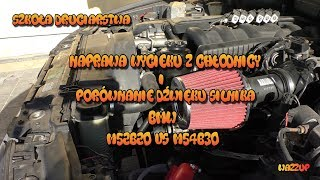 Szkoła Druciarstwa Porównanie Dźwięku Silnika BMW M52B20 vs M54B30 i Naprawa Wycieku Wazzup :)