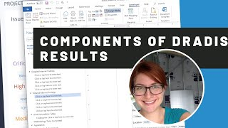 Components of Dradis results