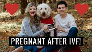 I've Been Keeping a Secret...I'M PREGNANT!! Telling my husband, our first ultrasounds, and MORE!