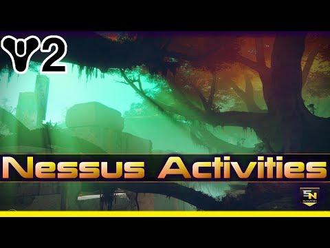 Destiny 2 | Nessus Activities- NEW 'World Quests', Hidden Challenges,  'Prestigious Gear' & more!