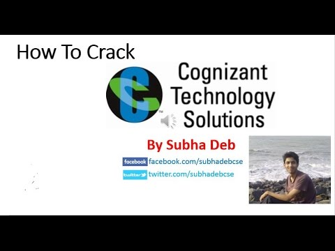 How To Crack Cognizant Technology Solutions/CTS Aptitude Test