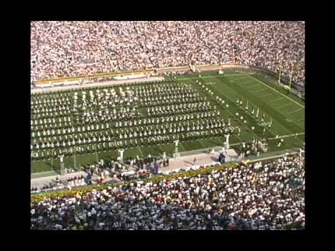 MSU at Notre Dame Amazing Grace 2001