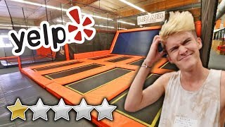 Download WE WENT TO THE WORST REVIEWED TRAMPOLINE PARK... Mp3 and Videos