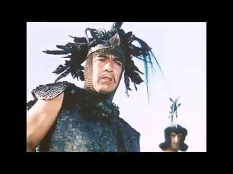 Attila the Hun is confronted by Pope Leo I outside Rome, AD 450