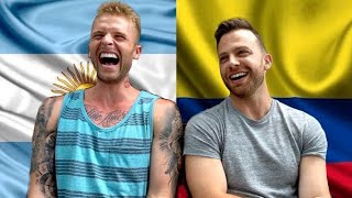 COLOMBIA vs. ARGENTINA | Zach Morris y Dustin Luke