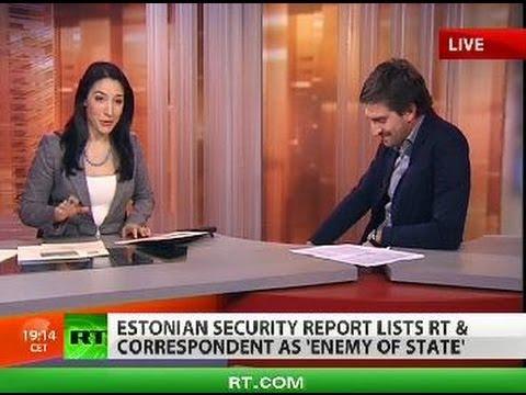 RT reporter - enemy of Estonia?!