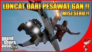 GTA V MISI STORY (3) - SERU NIH LONCAT DARI PESAWAT !!
