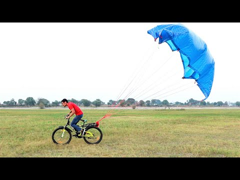 Parachute Attached On