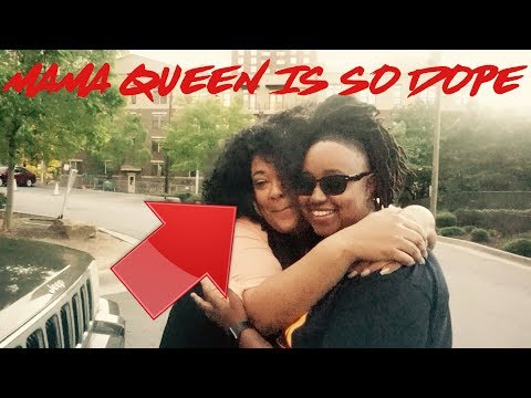 QUEEN MOM CALLED ME BUBBLY AND LITTLE LOL FT TINA AND TERRELL ATL COLLABORATION (LIT VLOG)