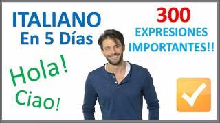 Aprender Italiano en 5 días - Conversación para principiantes