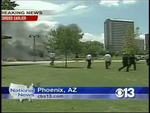 CBS 13 Coverage of the Phoenix News Helicopter Crash
