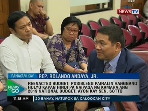 NTG: For the record: Rep. Rolando Andaya, Jr., Chairman, House Appropriations Committee