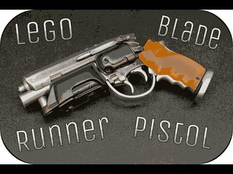 Lego Blade Runner Pistol - YouTube