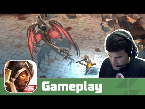 Dungeon Hunter 5 (iOS/Android) Gameplay com Facecam [PT-BR]