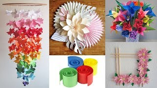 5 DIY Paper Craft Idea For Room Decor 2019!! | Paper Room Decor Idea | DIY Projects