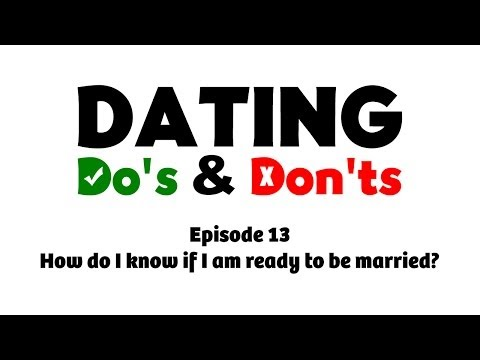 How do I know if I am ready to be married? - Dating Do's & Don'ts E13 - Rabbi Manis Friedman from YouTube · Duration:  6 minutes 22 seconds