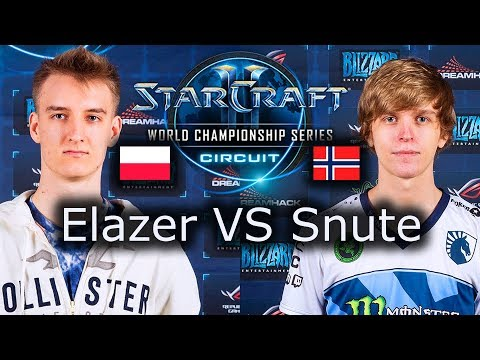 Elazer VS Snute - WCS Montreal 2017 - Ro4 - polski komentarz