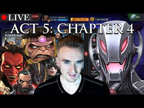 LIVE: ACT 5 Chapter 4 | Marvel: Contest of Champions