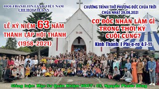 HTTL VIỆT AN - Chương trình thờ phượng Chúa - 29/08/2021