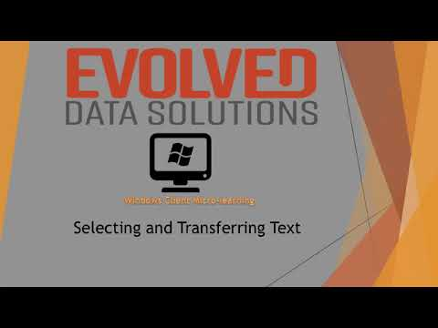 Evolved Windows Client Micro Learning 1