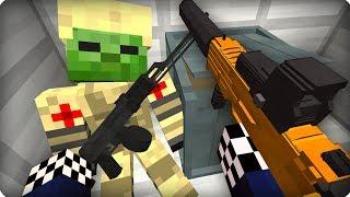 Этот военный держался как мог [ЧАСТЬ 16] Зомби апокалипсис в майнкрафт! - (Minecraft - Сериал)