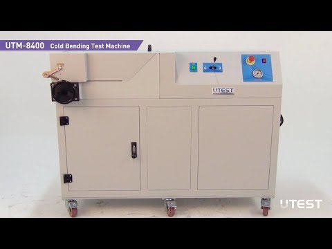 UTM 8400, Cold Bending Test Machine, EN