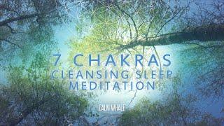 ALL 7 chakras Cleansing - Deep Meditation & Sleep | RAV Drum & Chakapa Journey