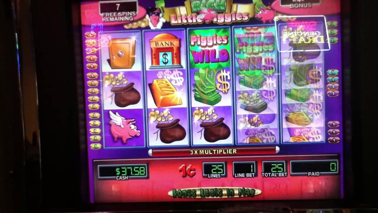 Rich Little Piggies Slot Machine Free