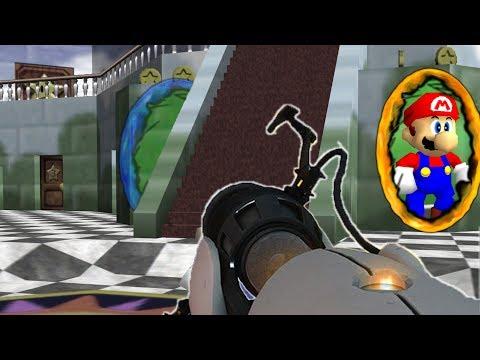 Mario Plays with Portals