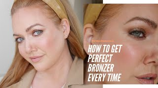 How to Apply Bronzer (and Contour + Blush) | A Tutorial for Beginners + Mature Skin