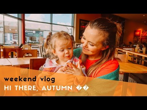 WEEKEND VLOG - HELLO AUTUMN, HOMESENSE & DANCING WITH CATS