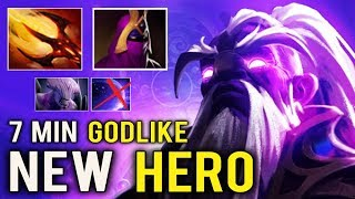 NEW IMBA HERO Void Spirit 7 Min Godlike Counter Void Like A Boss Top Immo Rank 7.23 Dota 2