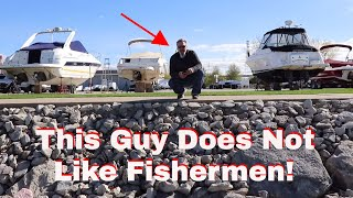 Harassed while Bass Fishing by this Guy! Will the cops be called?