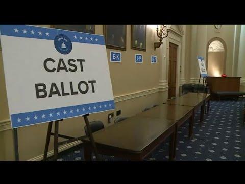 Congressman Tim Ryan lobbies ahead of House leadership vote