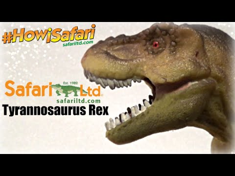 Safari Ltd. || Tyrannosaurus Rex || #HowiSafari Review