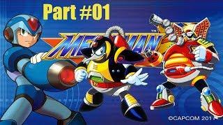 Mega Man X #01 vs. Chill Penguin vs. Flame Mammoth   (HD, Deutsch) thumbnail