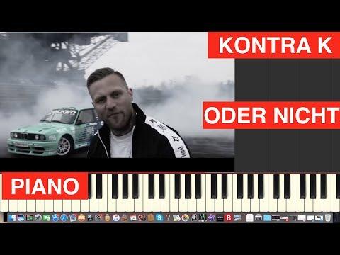 Kontra K - Oder nicht - Piano Cover