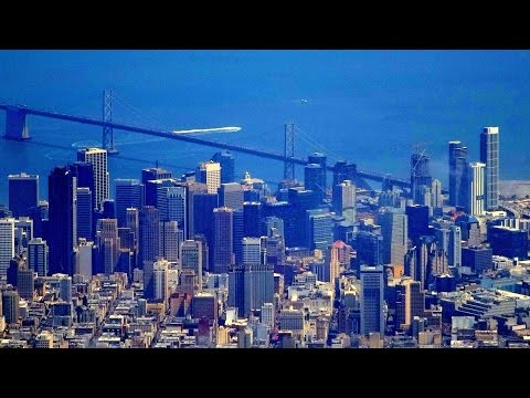 San Francisco-London UA flight (with ATC audio): Lake Tahoe, Reno, Wales, River Thames 2015-08-18